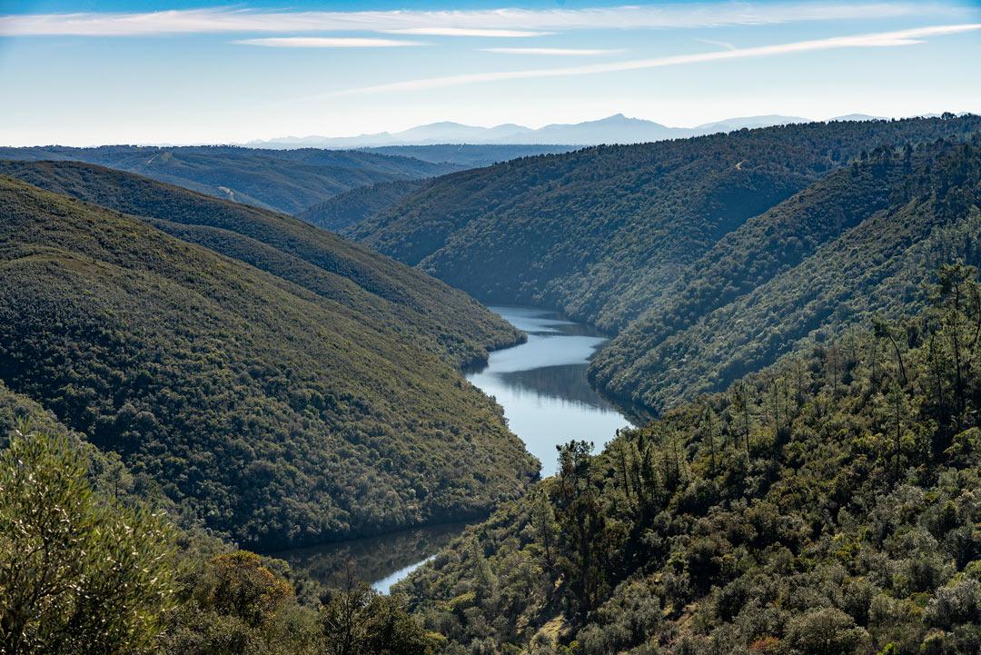 Láminas de agua - Río Sever - Montalvao