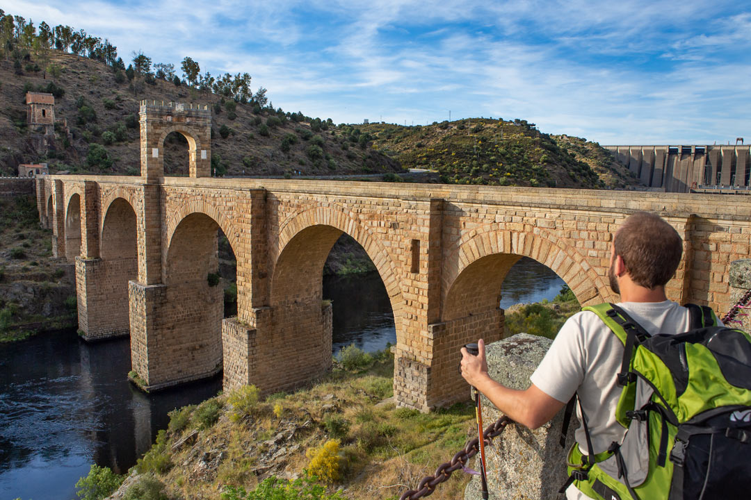 Vía de la Estrela - Puente de alcántara