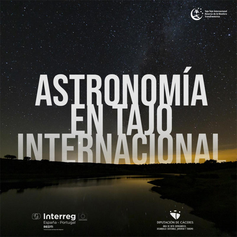 Astronomía en Tajo Internacional. Guía práctica para ver las estrellas