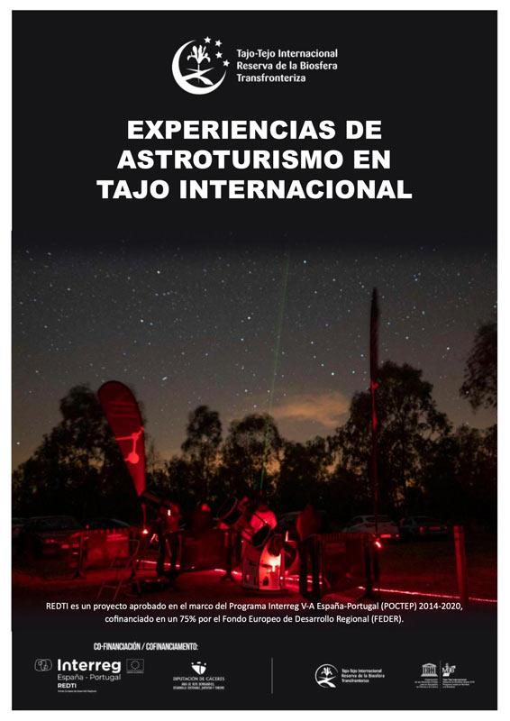 Catálogo experiencias astroturismo en Reserva de la Biosfera Transfronteriza Tajo-Tejo Internacional